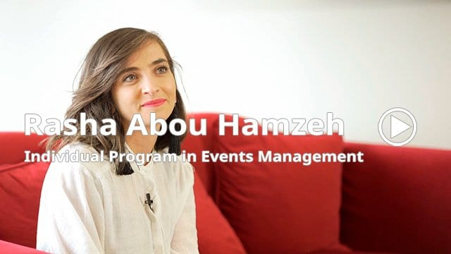 Play Rasha Abou Hamzeh testimonial video